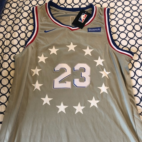 new product bee12 6fc2d Jimmy Butler Grey City Edition Jersey Boutique